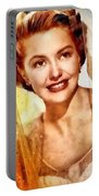 Cyd Charisse, Vintage Hollywood Legend Portable Battery Charger