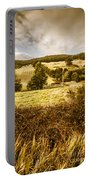 Cygnet Rustic Farming Fields Portable Battery Charger