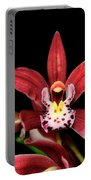 Cymbidium Orchid 001 Portable Battery Charger
