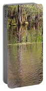 Cypresses Reflection Portable Battery Charger