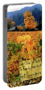 D8b6314 Autumn At Jack London Vinyard With Thanks To Firefighters Ca Portable Battery Charger