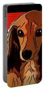 Dachshund 2 Portable Battery Charger
