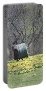 Daffodil Bales Portable Battery Charger