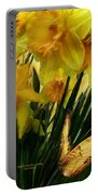 Daffodils - First Flower Of Spring Portable Battery Charger