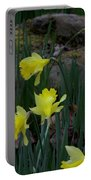 Daffodils In The Smokies Portable Battery Charger