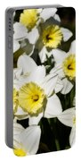 Daffodils Portable Battery Charger