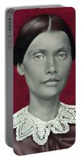 Daguerreotype Lady Detail Portable Battery Charger