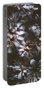 Dahlia Abstraction Portable Battery Charger