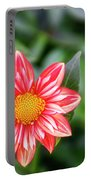 Dahlia And Proverbs Verse Portable Battery Charger