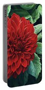 Dahlia Dawn Portable Battery Charger