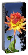Dahlia Delight Portable Battery Charger