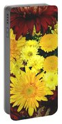 Dahlia Display Portable Battery Charger
