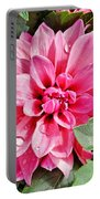 Dahlia Dripping Portable Battery Charger