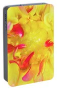 Dahlia Flower Portable Battery Charger