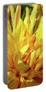 Dahlia Flower Art Collection Giclee Prints Baslee Troutman Portable Battery Charger
