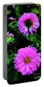 Dahlia Mirror Portable Battery Charger
