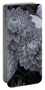 Dahlias Multi Bw Portable Battery Charger