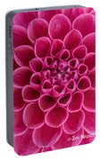 Dainty Dahlia Portable Battery Charger