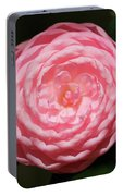 Dainty Pink Camellia Portable Battery Charger