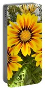 Daisies 3a Portable Battery Charger