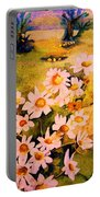 Daisies In The Sun Portable Battery Charger