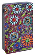 Daisies Of Terabithia Portable Battery Charger