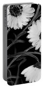Daisies St Night Portable Battery Charger