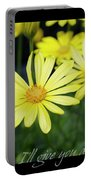 Daisy A Day Portable Battery Charger
