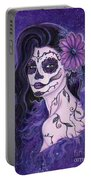 Daisy Day Of The Dead Portable Battery Charger