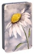 Daisy Modern Poster Print Fine Art Portable Battery Charger