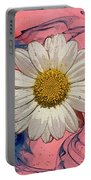 Daisy Swirls 1 Portable Battery Charger
