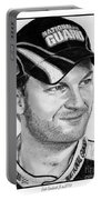 Dale Earnhardt Jr In 2009 Portable Battery Charger