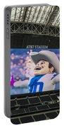 Dallas Cowboys Rowdy Portable Battery Charger