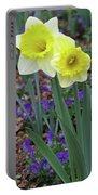 Dallas Daffodils 78 Portable Battery Charger