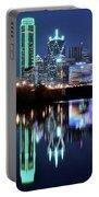 Dallas Dark Blue Night Portable Battery Charger