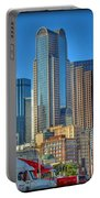 Dallas Morning Skyline Portable Battery Charger