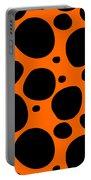 Dalmatian  Black Pattern 03-p0173 Portable Battery Charger