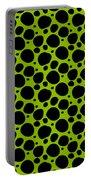 Dalmatian  Black Pattern 09-p0173 Portable Battery Charger