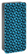 Dalmatian Pattern With A Black Background 18-p0173 Portable Battery Charger
