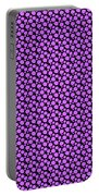 Dalmatian Pattern With A Black Background 30-p0173 Portable Battery Charger