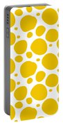Dalmatian Pattern With A White Background 05-p0173 Portable Battery Charger