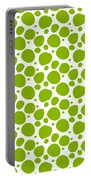 Dalmatian Pattern With A White Background 09-p0173 Portable Battery Charger