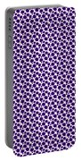 Dalmatian Pattern With A White Background 30-p0173 Portable Battery Charger