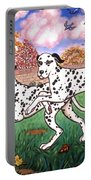 Dalmatians Two Portable Battery Charger