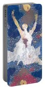Dance Abstract In The Mix Portable Battery Charger