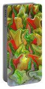 Dance Of The Appetizers Portable Battery Charger