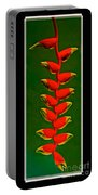 Dance Of The Heliconias Portable Battery Charger