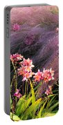 Dance Of The Orchids Portable Battery Charger