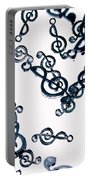 Dance Of The Treble Clef  Portable Battery Charger