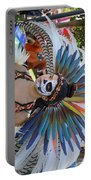 Dancer Day Of The Dead II Portable Battery Charger